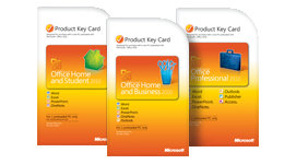 Product Key Card